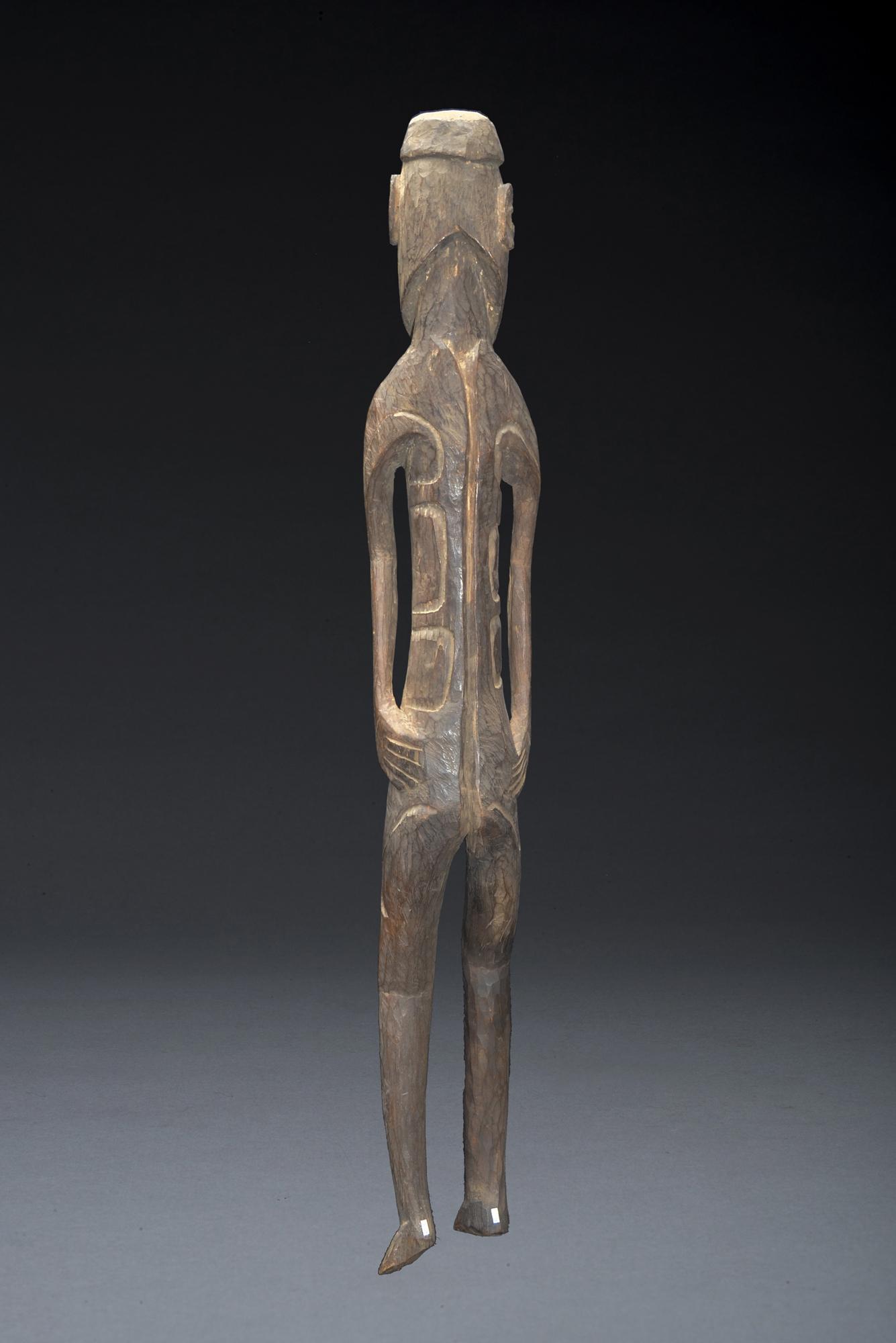 Ancestor Figure ,Asmat People, West Papua Irian Jaya Indonesia