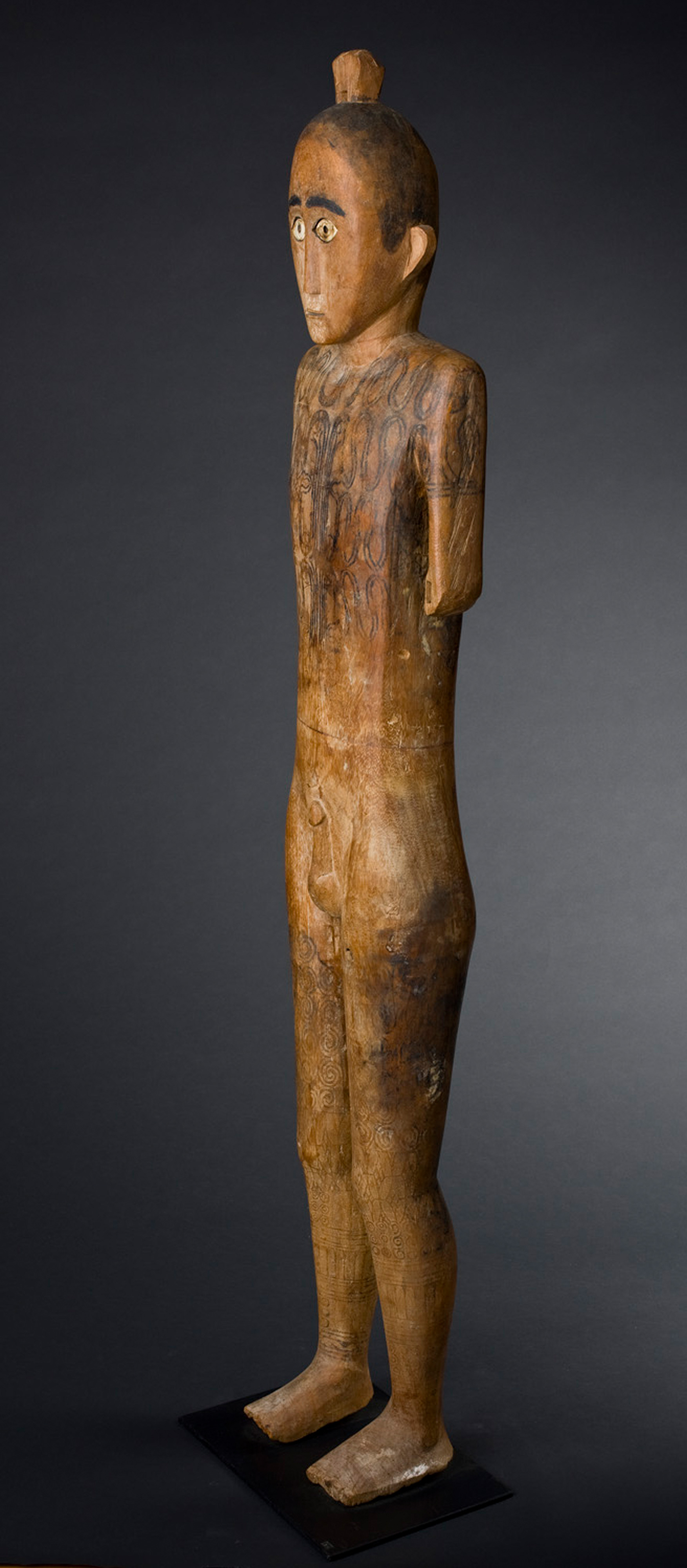 Tau Tau Figure, Toraja, Sulawesi Island, Indonesia 19th C
