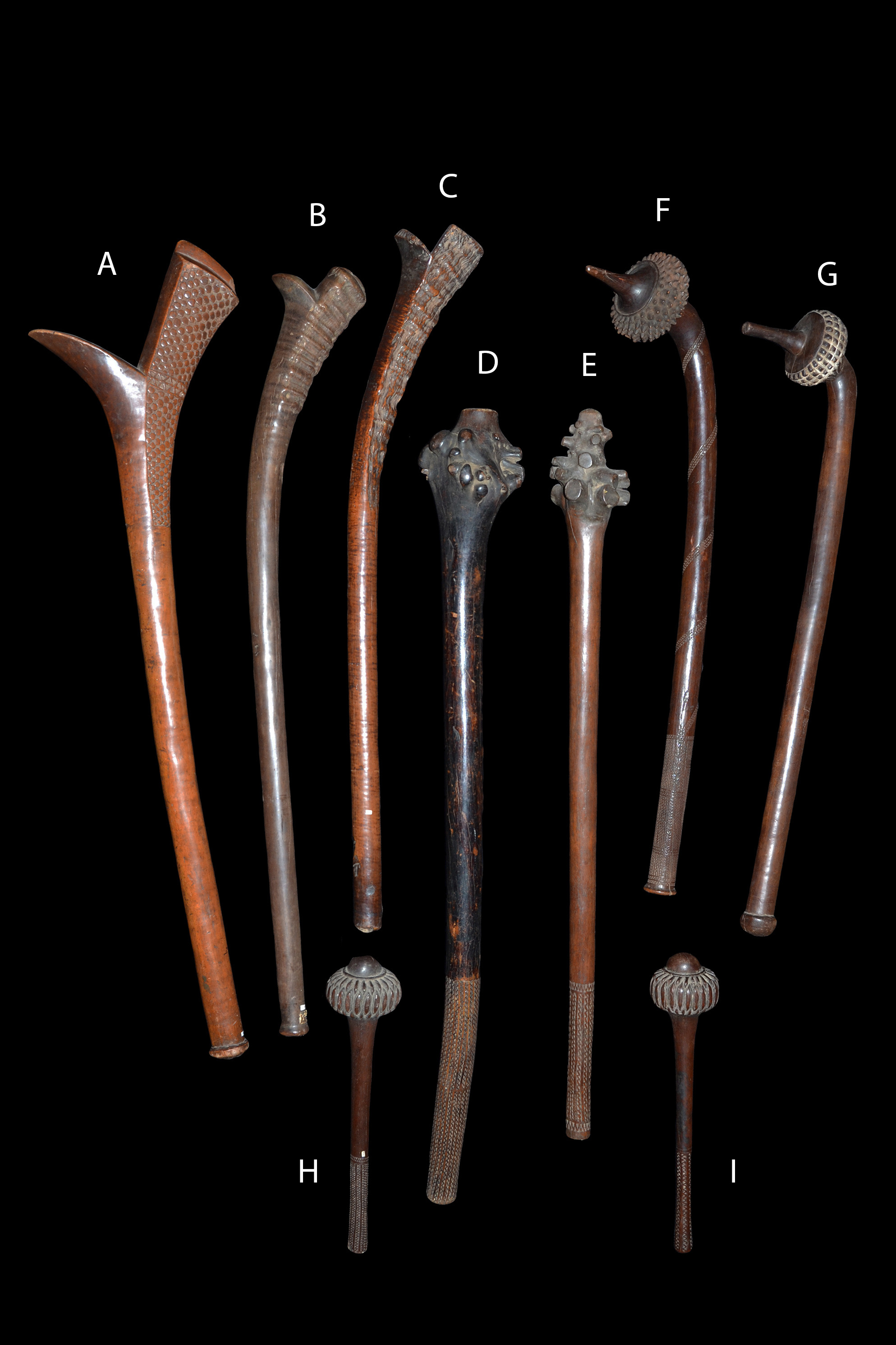 A Collection of Fijian War Clubs 18th – 19th Century
