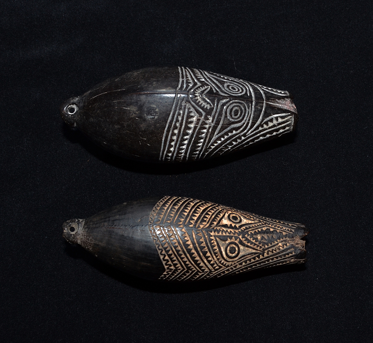 Marupai Charms from the Papuan Gulf area, Papua New Guinea 19th C.