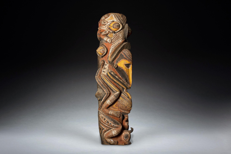 A Fine Old Monumental Abelam Spirit Figure