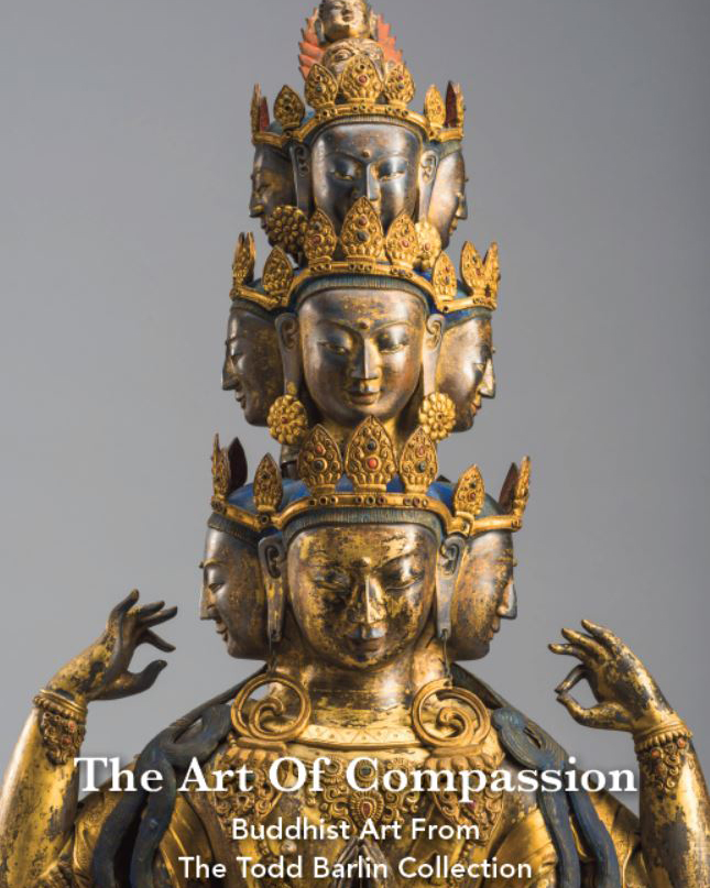 A Superb Large and Rare 12th-13th Century Bronze Phurba from Tibet
