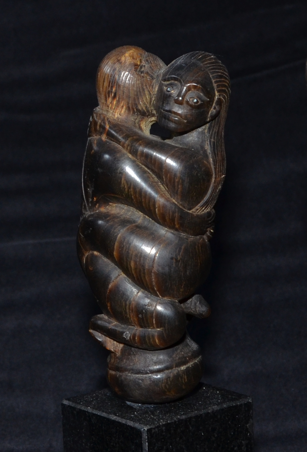 Four Finely Carved Betel Nut Knife Handles Indonesia