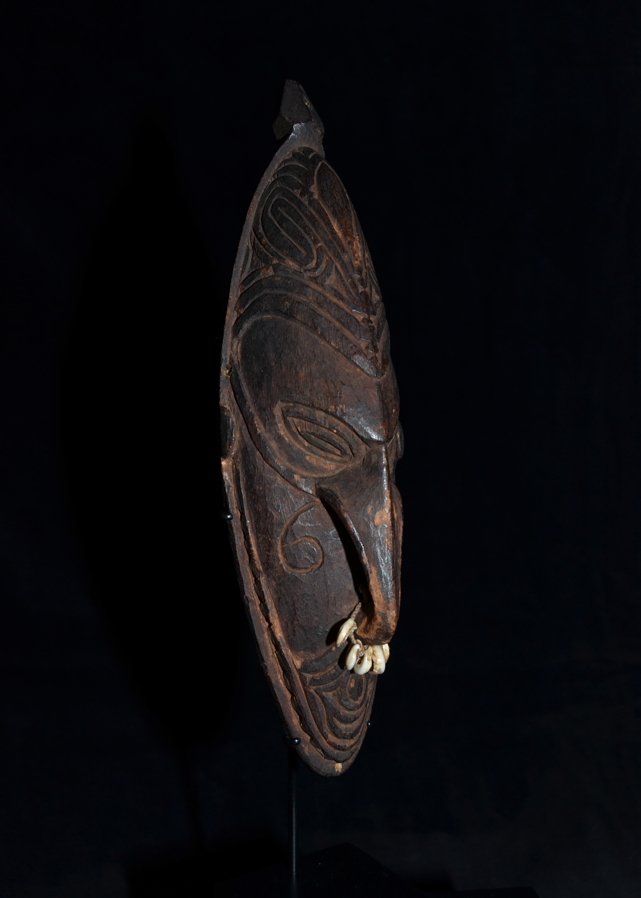 A Collection of Amulet Masks Sepik River Area East Sepik Province Papua New Guinea