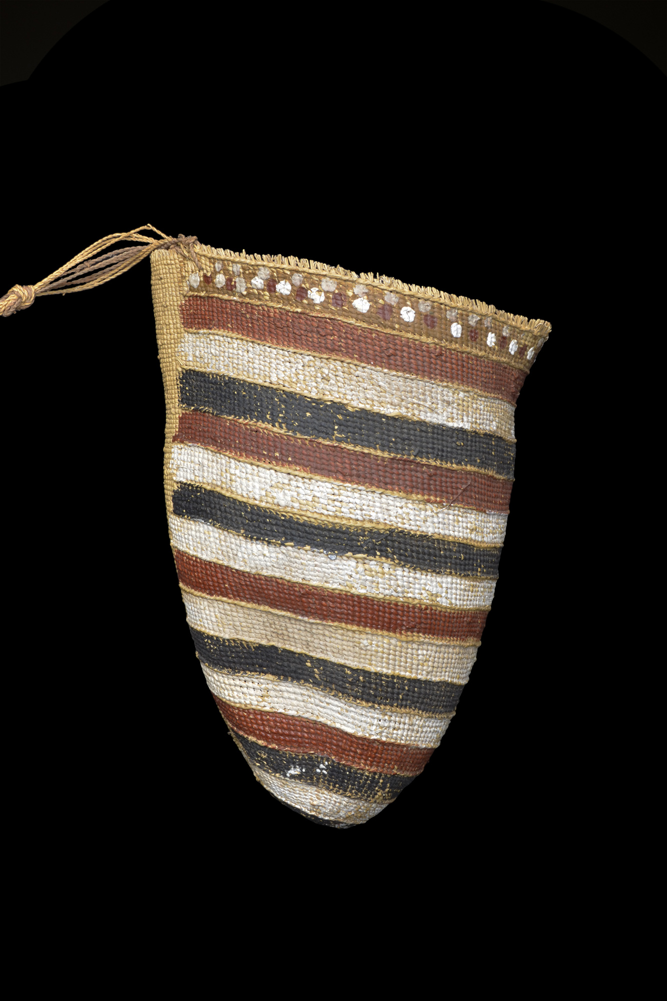 A Finely Woven & Painted Dilly Bag Central Arnhem Land Northern Australia