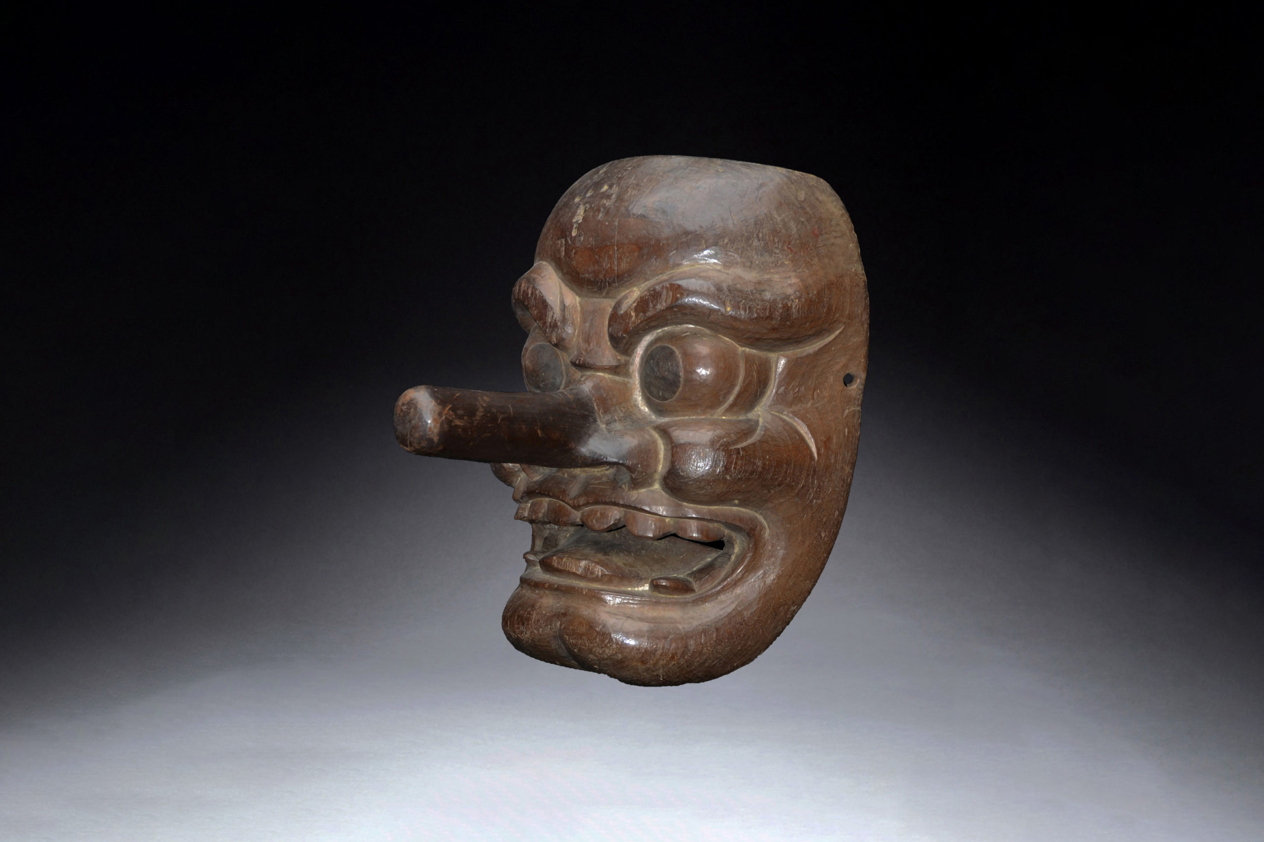 A Superb Japanese Tengu Mask from the19th Century