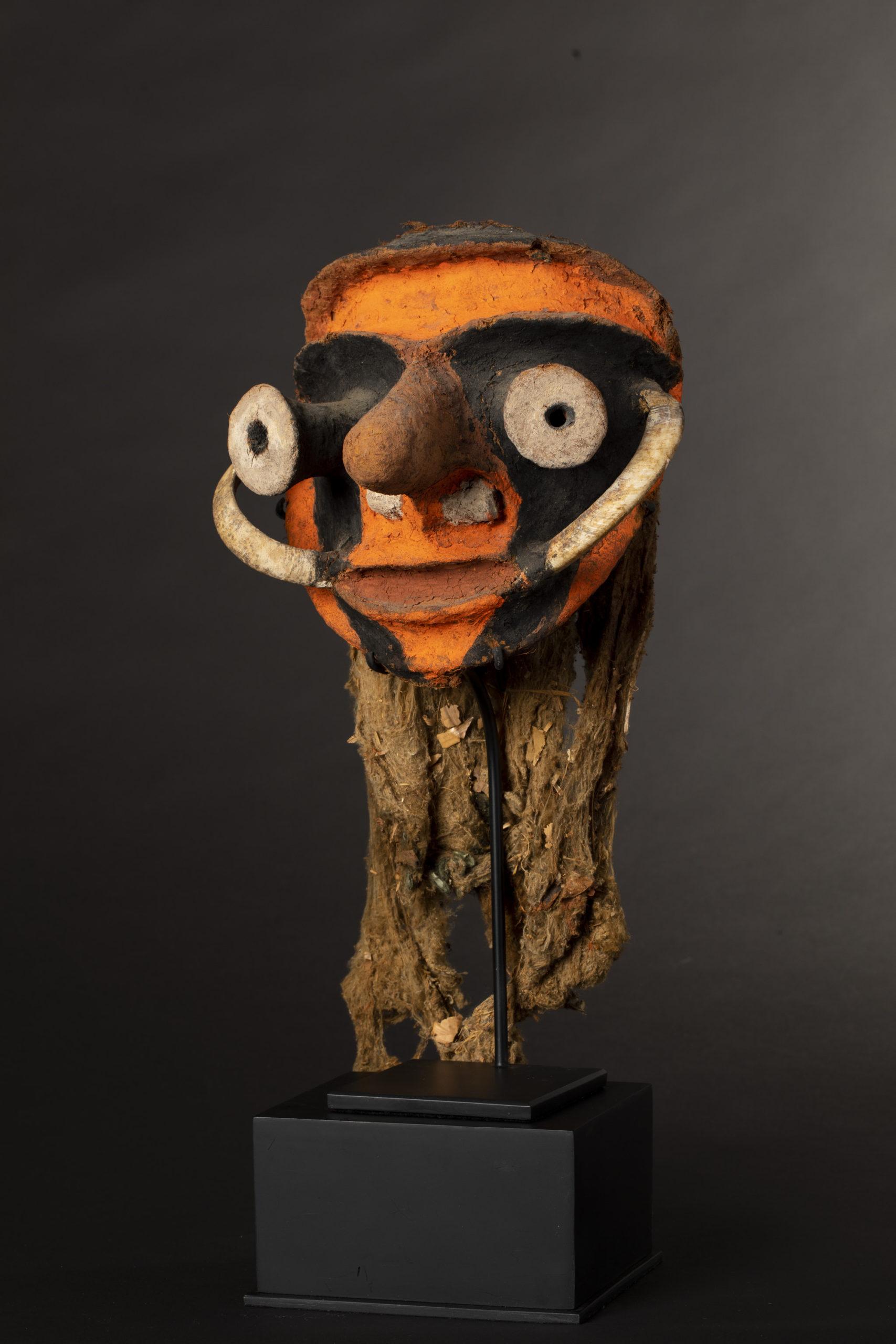 A Superb Malekula Island Ceremonial Mask Vanuatu